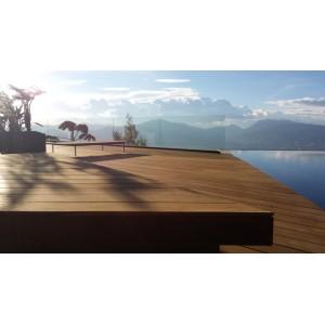 Terrasse Ipé lisse 20 x 140 mm